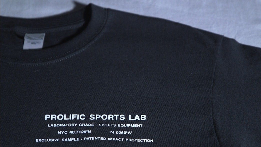 "Prolific ""Exclusive Sample"" Training Black T-Shirt"
