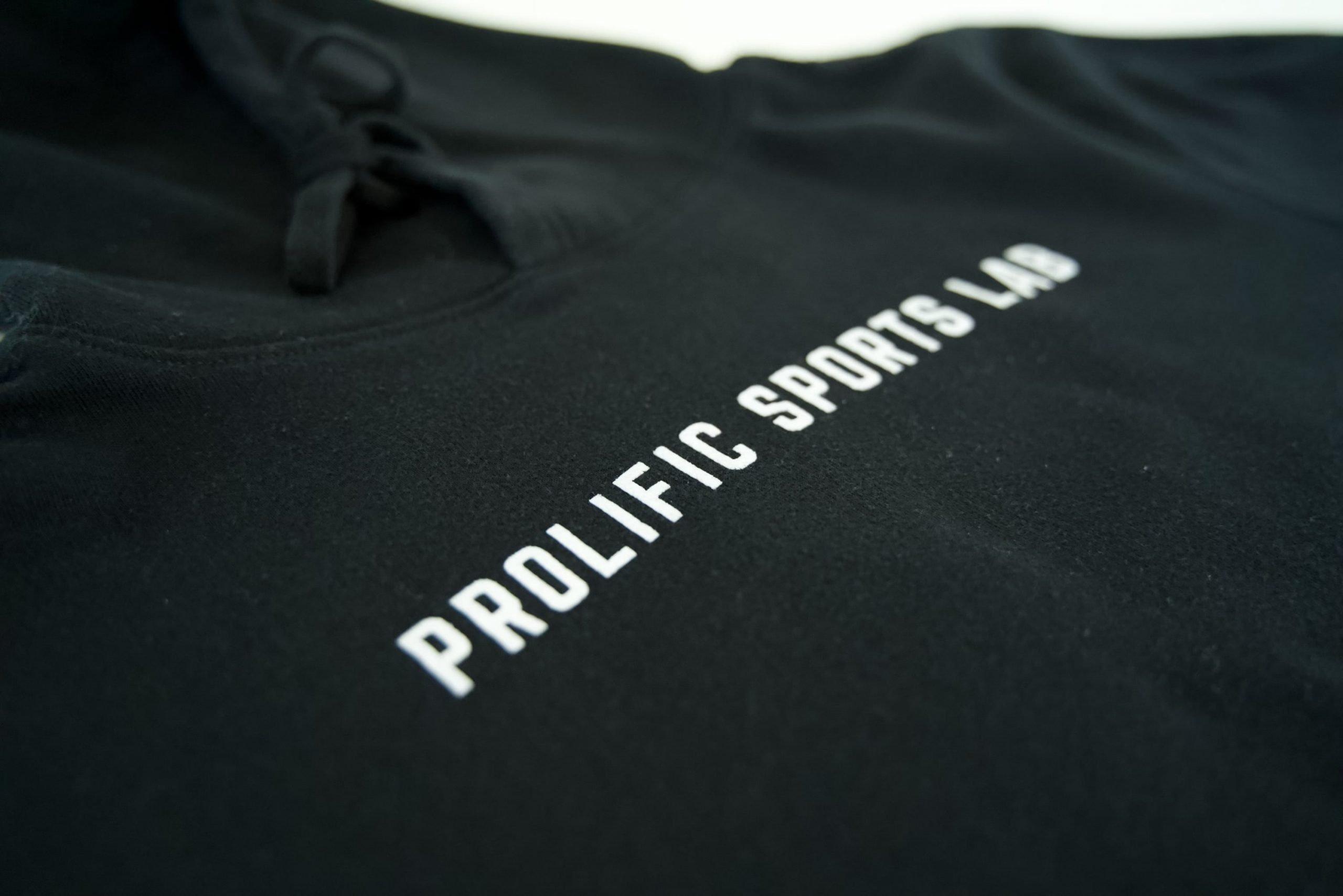 "Prolific ""Catalyst"" Black Training Hoodie"