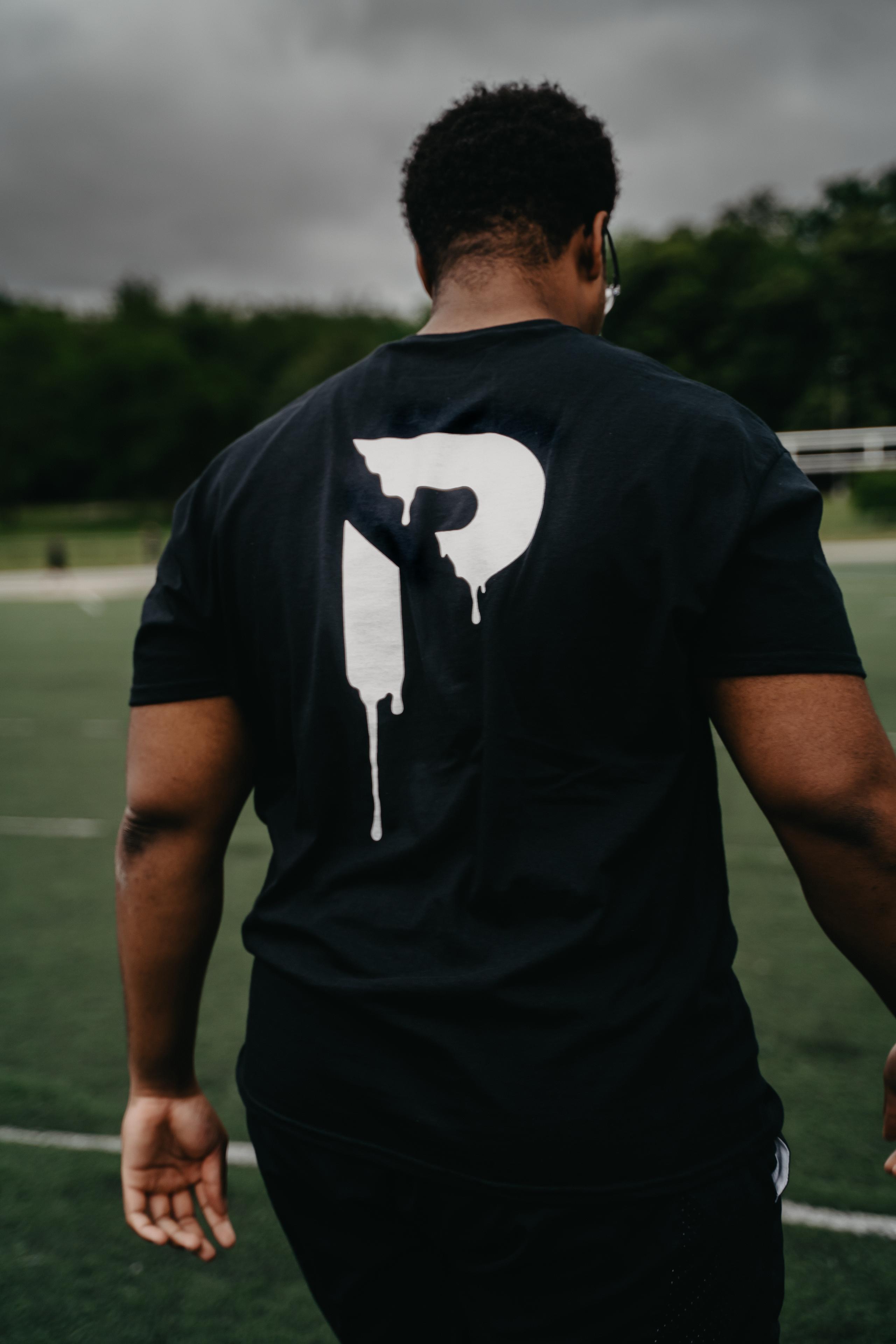 "Black ""Drip"" T-Shirt"